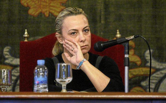 La alcaldesa de Alicante, Sonia Castedo, en una imagen de archivo.