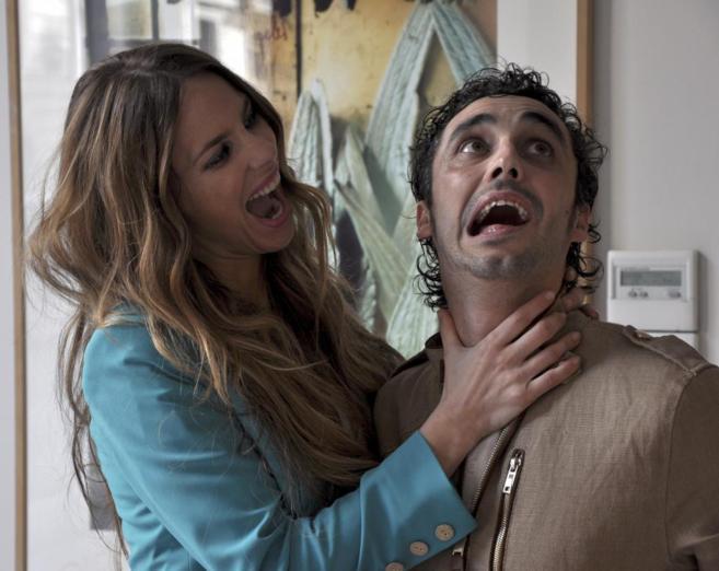 Vanesa Romero y Canco Rodríguez, protagonistas de la obra.