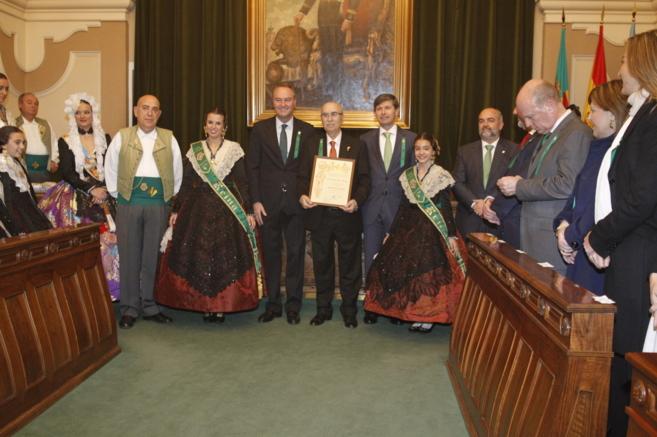 Miquel Soler recibió un homenaje con la entrega del Fadrí d'Or...