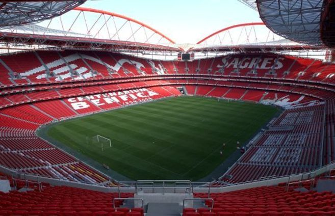 Estadio 'Da Luz',  sede de la final.