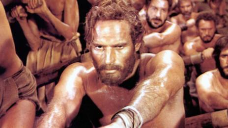 Charlton Heston es el protagonista de 'Ben-Hur'.