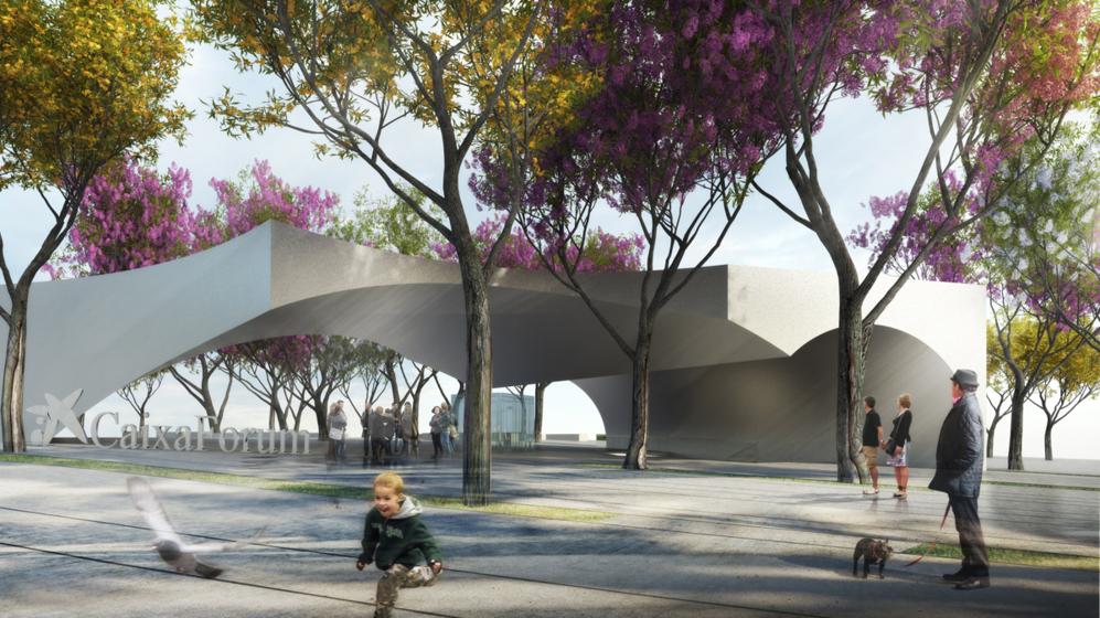 Otro ángulo de la recreación virtual de la plaza que ocupará el...