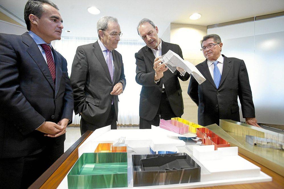 El arquitecto Guillermo Vázquez Consuegra explica los pormenores de...