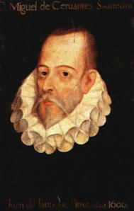 Retrato de Cervantes.