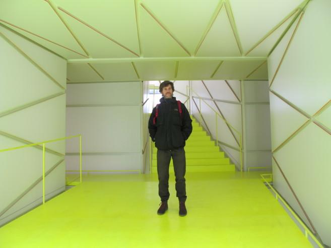 Luis Tamayo, conector de la plataforma Ouishare en Madrid,...