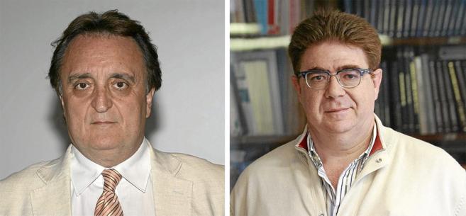 Los dos candidatos a la presidencia del Colegio de Médicos, José...