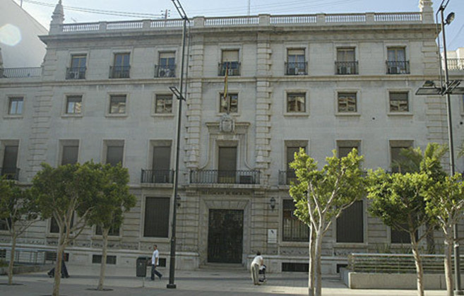 Antigua sede de Hacienda de Castellón.