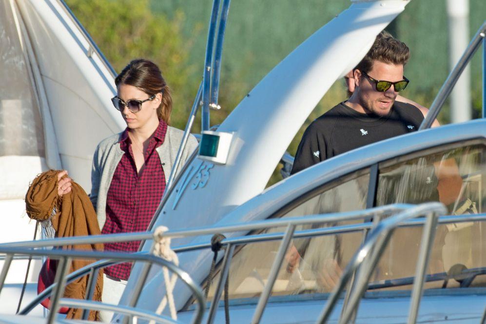 Blanca Suárez y Dani Martín navegaron con un grupo de amigos durante...