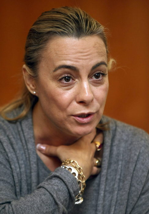 La alcaldesa Sonia Castedo, en una entrevista.