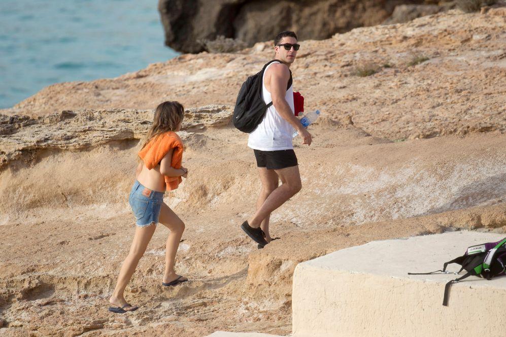 En el pasado, la actriz ya había disfrutado de Ibiza con Miguel...