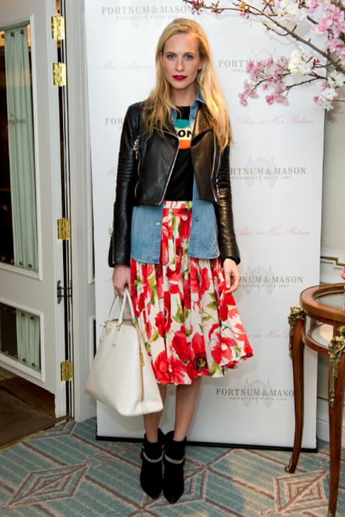 Poppy Delevingne y su perfecto 'look' de primavera.