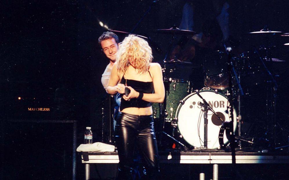 Courtney Love y Edward Norton. Cuando Courtney Love (49), la viuda...