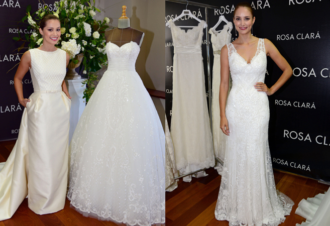 alba carrillo y gabriela lenzi se visten de novia | moda | el mundo