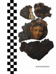 Máscara de cartonaje del gobernador Heqaib III (1800 a.C)
