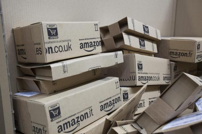 Almacén de distribución de Amazon en San Fernando de Henares.