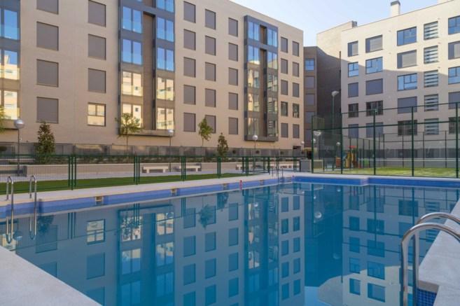 Imagen de la nueva promoción de viviendas Nebulosas de Vía Célere.