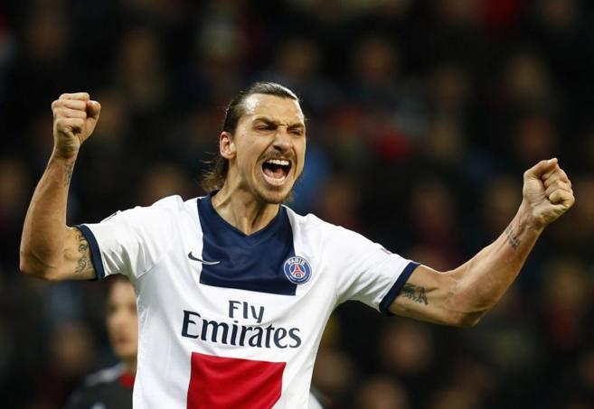 Zlatan Ibrahimovic, fichado por el Paris Saint Germain en 2012.