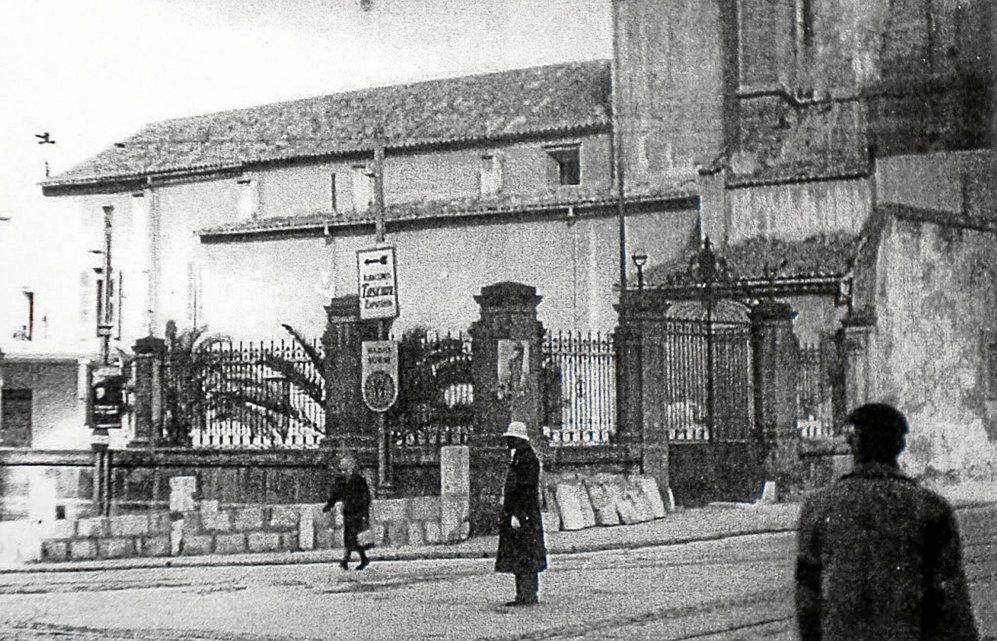 El Hospital Militar de Palma en 1953.