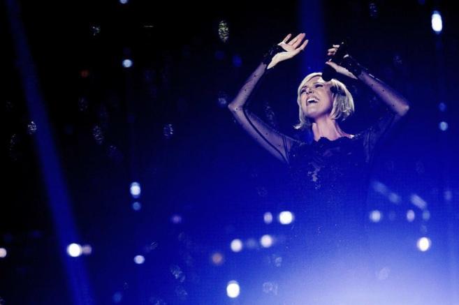 La representante sueca en Eurovisión, Sanna Nielsen