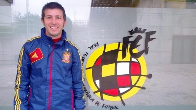 Albert Celades, en la sede de la Federación.