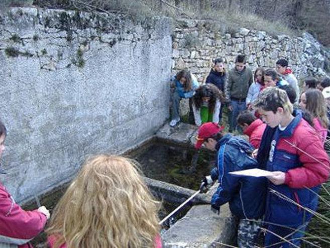 Las colonias de verano se convierten en Escola de Natura en invierno.