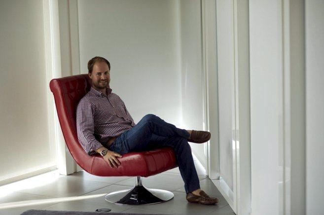 Julián Vinué es el director de la academia de Wayra en Barcelona.