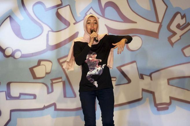 Mayam Mahmud, la joven rapera egipcia que canta contra la...