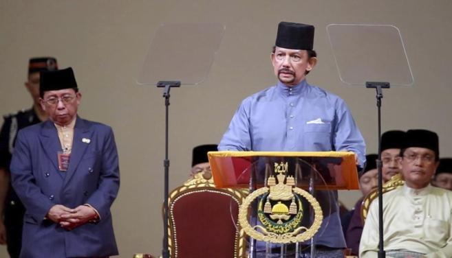 El sultán de Brunei, Hassanal Bolkiah.