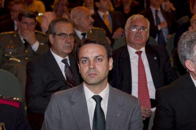 Manel Prat, en la celebración del Dia de les Esquadres