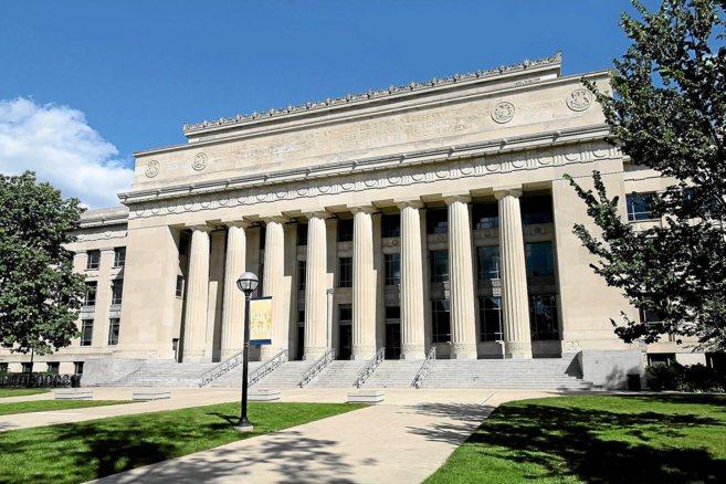 Uno de los edificios más emblemáticos de la Universidad de Michigan.