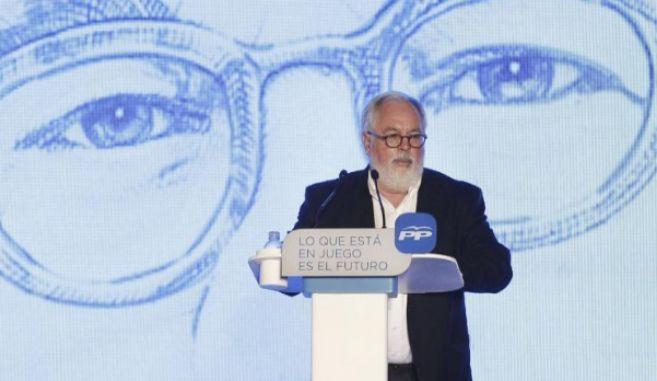 El candidato del PP a las elecciones europeas, Miguel Arias Cañete.
