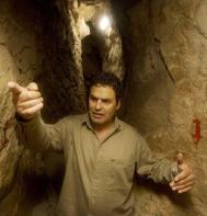 El arqueólogo israelí Eli Shukron.