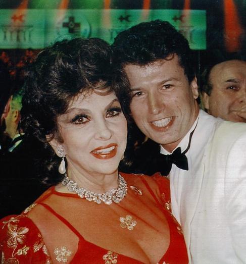 La actriz y Rigau, en una foto de archivo.