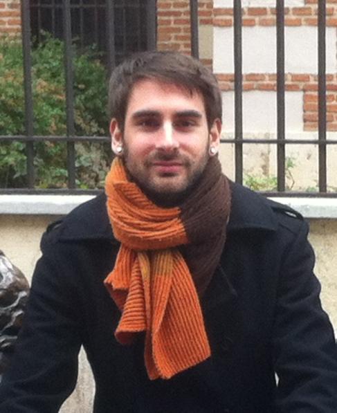 El investigador leonés Rubén Santamarta, autor del hallazgo sobre...