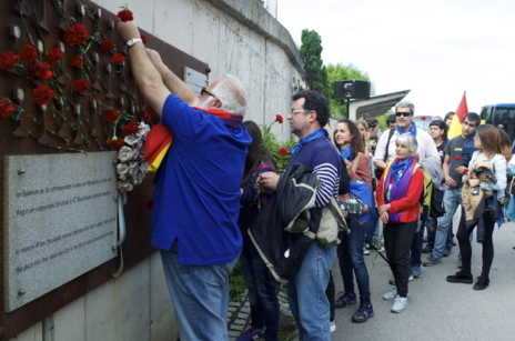 69º aniversario de la liberación de Mauthausen.