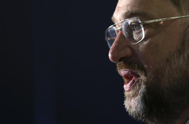 El candidato socialista a la Comisión Europea, Martin Schulz.