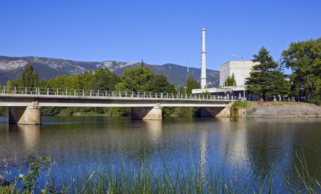 Panorámica de la central nuclear de Garoña.