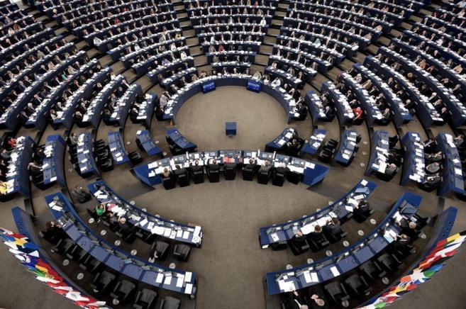 Imagen del Parlamento Europeo durante una sesión plenaria del pasado...