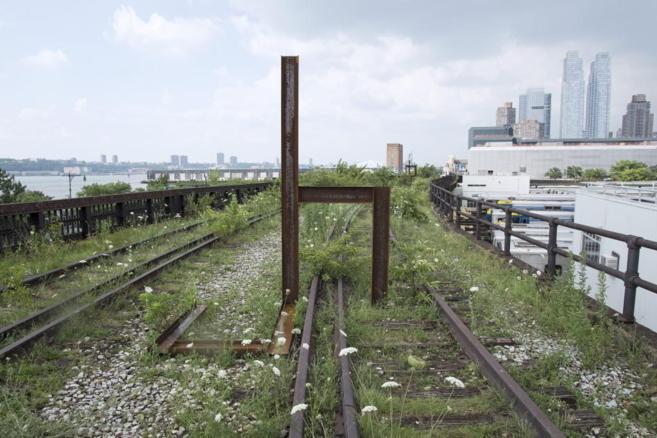 Aspecto de una de las obras que ahora pueblan la High Line.