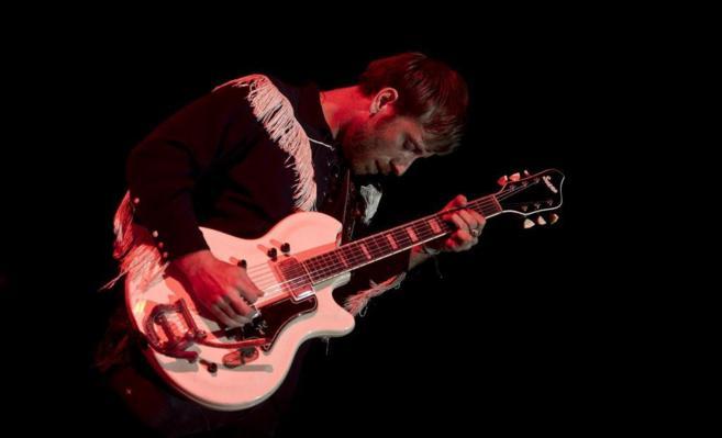 Auerbach, en el concierto de The Black Keys en el Palacio de los...