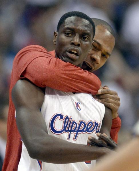 Collison, base suplente de los Clippers, autor de 12 puntos en el...