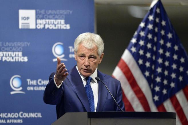 El secretario de Defensa de EEUU, Chuck HAgel.