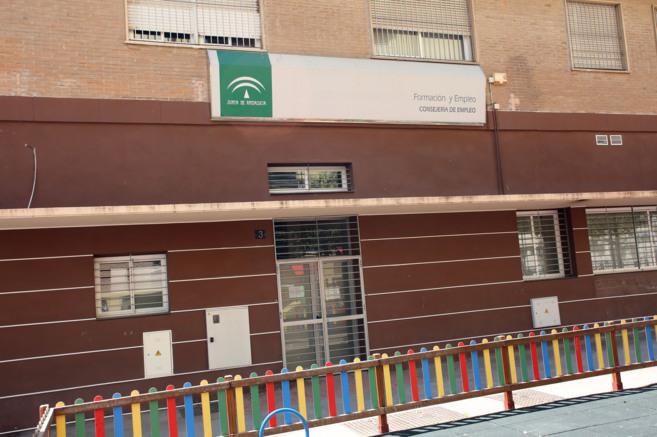 Sede de la Faffe en Málaga, actualmente vacía.