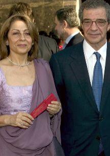César Alierta El presidente de Telefónica está casado con Ana...