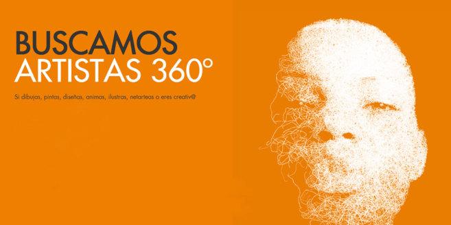Mensaje de la web visualtalent360.es donde se estalla el proyecto.