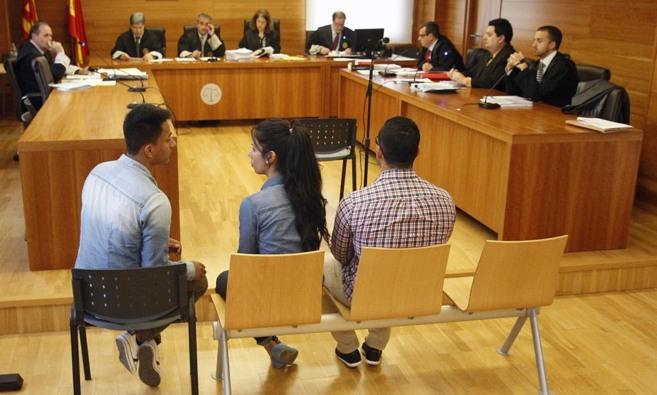El juicio se está celebrando en la Audiencia de Castellón.