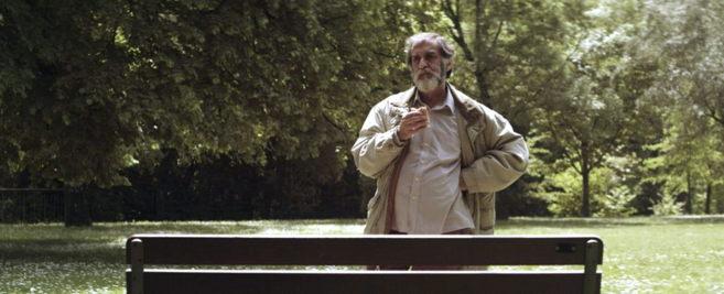 Ramón Barea en un fotograma de 'Negociador'.