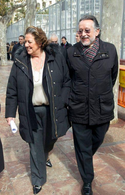 Rita Barberá y Alfonso Grau.