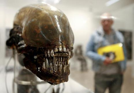 La cabeza de Giger que inspiró Alien.