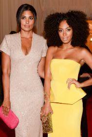 Rachel Roy y Solange fueron juntas a la gala del MET de 2012.